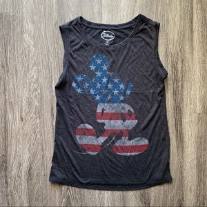 DISNEY AMERICAN FLAF MICKEY MOUSE TANK TOP
